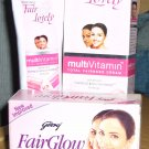 Godrej Fairglow Soap 100g + Fair & Lovely 50g (FREE SHIPPING WORLDWIDE!!!)