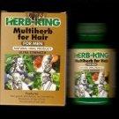 HERB-KING Multiherb for Hair for MEN Ultra Strength (4 bottles) FREE SHIPPING