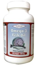 OMEGA 3 (Fish Oil) 1000mg (100 Softgels) Anti Acne (Free Shipping Worldwide)