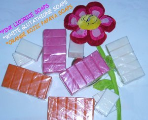 2X GLUTATHIONE Skin WHITENING Lightening Bleaching SOAP 150g
