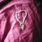 Silver Heart Style Bracelet
