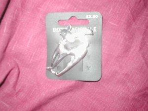 Contemporary Silver Brooch