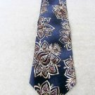 JS BLANK ALL SILK  TIE FREE SHIP   Excellent Handsome NWT DISPLAY Blue Print