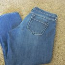 BANANA REPUBLIC 4P DENIM LOW CROP JEANS  EUC