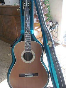 ACOUSTIC GUITAR BRUCE WEIART INLAY GUITAR
