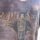 ROLLING STONE COLLECTION XXL Guitar Gods Brown TEE VGC TIE DYE