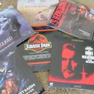 LASER DISC MOVIES 6 JURASSIC THE HUNT BATMAN PASSENGER 57 BODYGUARD OUT OF AFRIC
