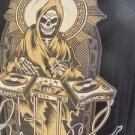 EXACT SCIENCE TEE DJ Reaper Skelton Black Large Pre-owned