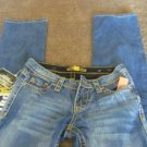 IRON HORSE SLIM FIT BOOT JEANS CHENEY NEW Size 0 x 32 Vintage Western Inspired