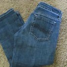 IMMORTALITY CROP JEANS 27 EUC Low