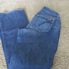 JOES JEANS GIGI Size 29 x 34 Slight Factory Distress Hems Pocket VGC