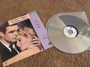 LASER DISC MOVIE PIONEER CLASSIC ANOTHER TIME, ANOTHER PLACE CONNERY TURNER