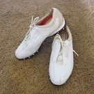 NIKE AIR GOLF SHOES Spike less Pre-owned 7 ½ White