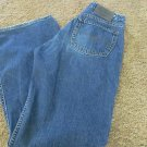 SILVER JEANS COWGIRL STYLE BUTTON FLY Pre-owned  EUC 28 x 33