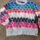 SKI Vintage Sweater an original by Sandra D LONDON  1989 Layering