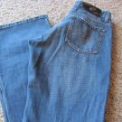 BEBINA JEANS DESIGNER Size 7 Embellished Low Boot Distress Super Cute EUC