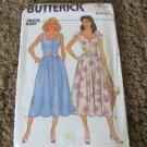 BUTTERICK 3227 PATTERN FAST & EASY 8-10-12 UNCUT Sun Dress  1985
