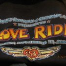 Harley Davidson T-Shirt Men's Glendale LOVE RIDE 2006