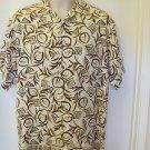 PENDLETON Size S 100% Silk Button Front Pocket Camp Shirt  NEW  Golf