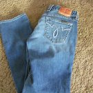 LUCKY BRAND LOLA STRAIGHT RUN STITCH Size 8- 29 X 33  EUC  RETAIL  $99.00