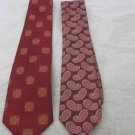 "ROBERT TALBOTT  ""BEST OF CLASS"" NORDSTROM 2-TIES Silk  NEW $115.00 Neckwear"