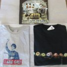 NOVELTY TEES LOT OF 3 Beer Gas 2-NWT 1-EUC XL Nothing to Fear But Lack of Beer