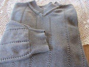 TOMMY BAHAMA XL GRAY Sweater Pullover EUC