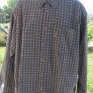 COLUMBIA SPORTSWEAR XXL Plaid Check Button Front NEW Work Shirt Casual