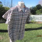 CLASSIC WESTERN  Plaid Western XXL Snap Front Shirt