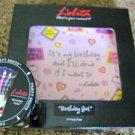 "LOLITA BIRTHDAY GIRL 9""  PLATE & Shot Glass NEW"