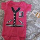 SARA KETY Bright Pink  DADDY'S LITTLE GIRL  0-6 MOS Preppy Darling NEW