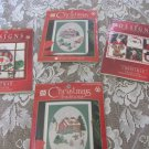 DESIGNS FOR THE NEEDLE COUNTED CROSS STITCH 4 Holiday Winter Village Snowman