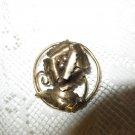 VINTAGE FLORAL BROOCH Sterling 1/20 12K Gold Filled Stamped Broken Intricate