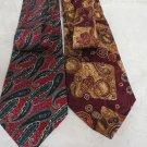 TIES ROBERT TALBOT OMAGGIO NORDSTROM 2 Neckwear Wide Silk Hand Sewn