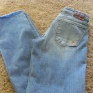 BIG STAR JEANS BOOT EUC 28 x 34 Low Rise   Denim Western Womens Boot Cut