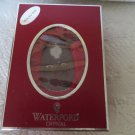 WATERFORD CRYSTAL Sleeping Mouse Orn W/Enhancer Germany 151963