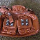 KATHY VAN ZEELAND Handbag Burnt Orange EXCELLENT CONDITION Purse