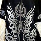 DRAGONFLY SHIRT XXL 2XL Black Heat Seaker PG-296 Tribal NEW A Beautiful Shirt!