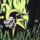 DRAGONFLY SHIRT ROADHOUSE  INSANITY Biker Bowl Rock Golf  Black XL NWT FLAMES