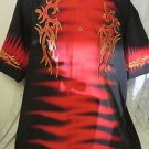 DRAGONFLY SHIRT ROADHOUSE  FT755 Biker Bowl Rock   Black RED XL NWT FLAMES 2005