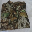WHITEWATER OUTDOOR APPAREL Shirt Camo XL Flannel Hunting Sports Hiking