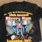 HARLEY DAVIDSON TEE LAUGHLIN NEVADA 1992 RIVER RUN SO. CAL