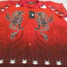 DRAGONFLY SHIRT Button Front XL RED SINISTER PG-366 NWT golf Club Bowl