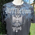 AFFLICTION TEE XL Signature Series George St Pierre RUSH NWOT