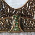 EDGAR BEREBI PLACE CARD HOLDER Empress Green Peridot Wedding Bridal SET/6 GIFT