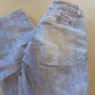 BANANA REPUBLIC PREMIUM DENIM STRETCH CLASSIC Size 0 NWOT.