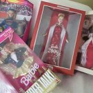 BARBIE DOLLS Mixed lot 4 Super Talk Nascar Collection Holiday Memories