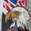 STEVEN HARRIS TIE Bald Eagle USA Patriotic Veteran VOTE