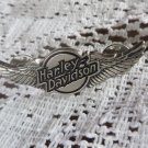 HARLEY DAVIDSON PIN  VINTAGE WINGED silver Tone 3 D HD Emblem Pin Hat Lapel CoaT