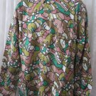 Giorgio  DANIELI Shirt VINTAGE Dress Casual Retro  MEDIUM Club Pocket